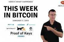 This week in Bitcoin Jan 7 2019
