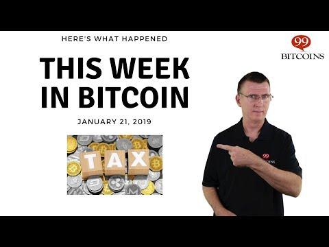 Bitcoin News Summary – January 21, 2019 thumbnail