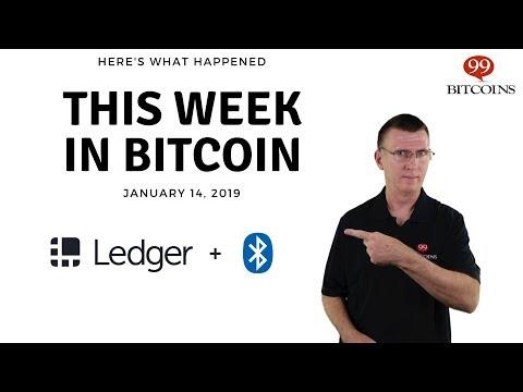 Bitcoin News Summary – January 14, 2019