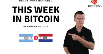This week in Bitcoin Feb 18 2019