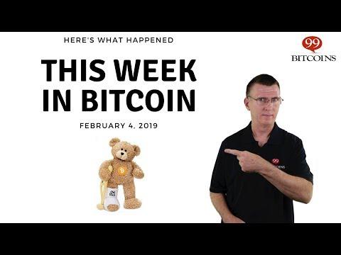 Bitcoin News Summary – February 4, 2019 thumbnail