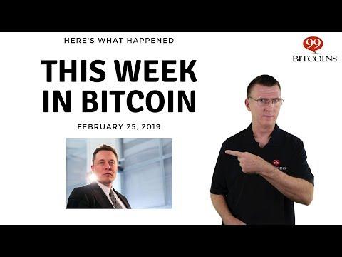Bitcoin News Summary – February 25, 2019