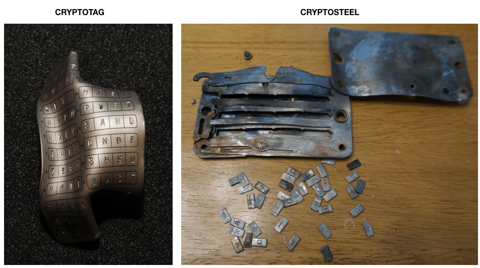 cyrptosteel vs cryptotag