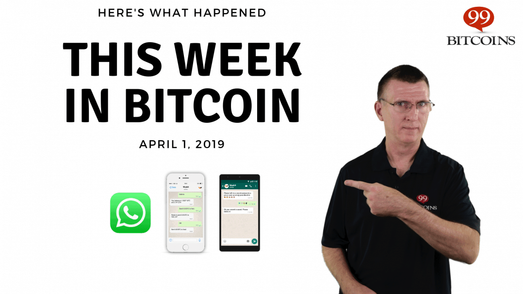 Bitcoin News Summary – April 1, 2019