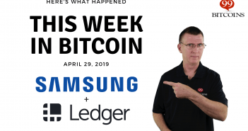 This week in Bitcoin Apr 29 2019