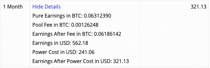 Antminer S17 results