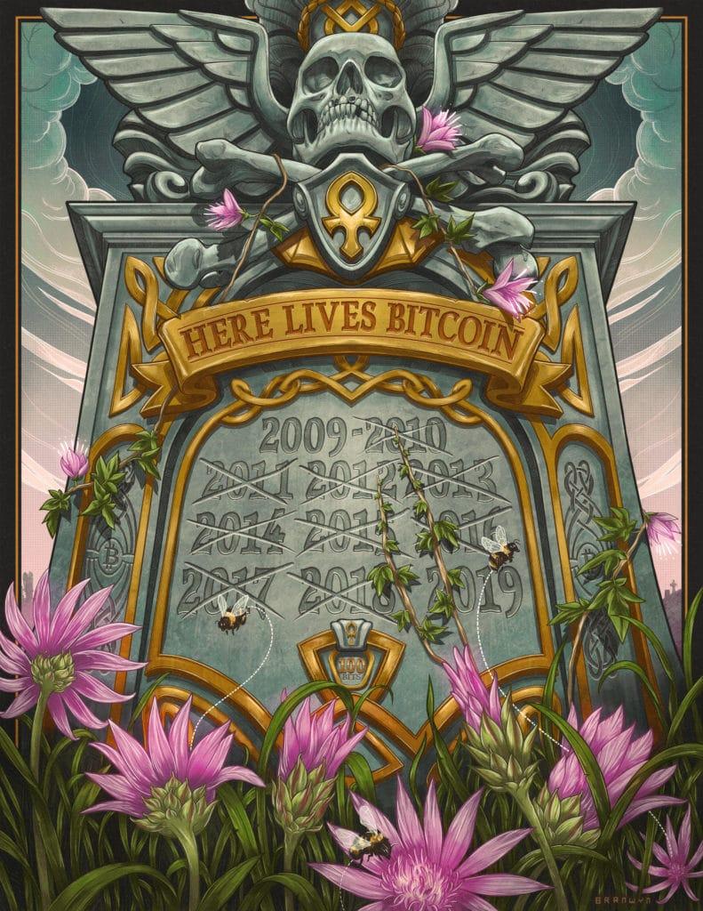 Bitcoin Obituaries - Bitcoin Declared Dead 350+ Times (2019