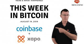 This week in Bitcoin Aug 19 2019