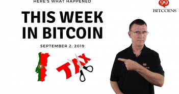 This week in Bitcoin Sep 2 2019