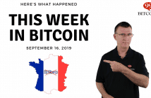 This week in Bitcoin Sep 16 2019
