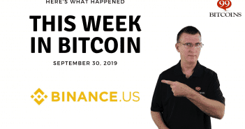 This week in Bitcoin Sep 30 2019