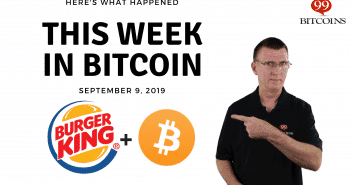 This week in Bitcoin Sep 9 2019