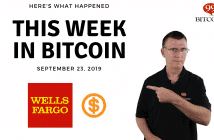 This week in Bitcoin September 23 2019