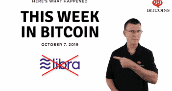 This week in Bitcoin Oct 7 2019