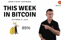 This week in Bitcoin Oct 21 2019