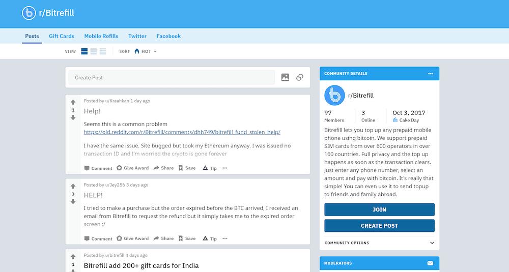 bitrefill reddit