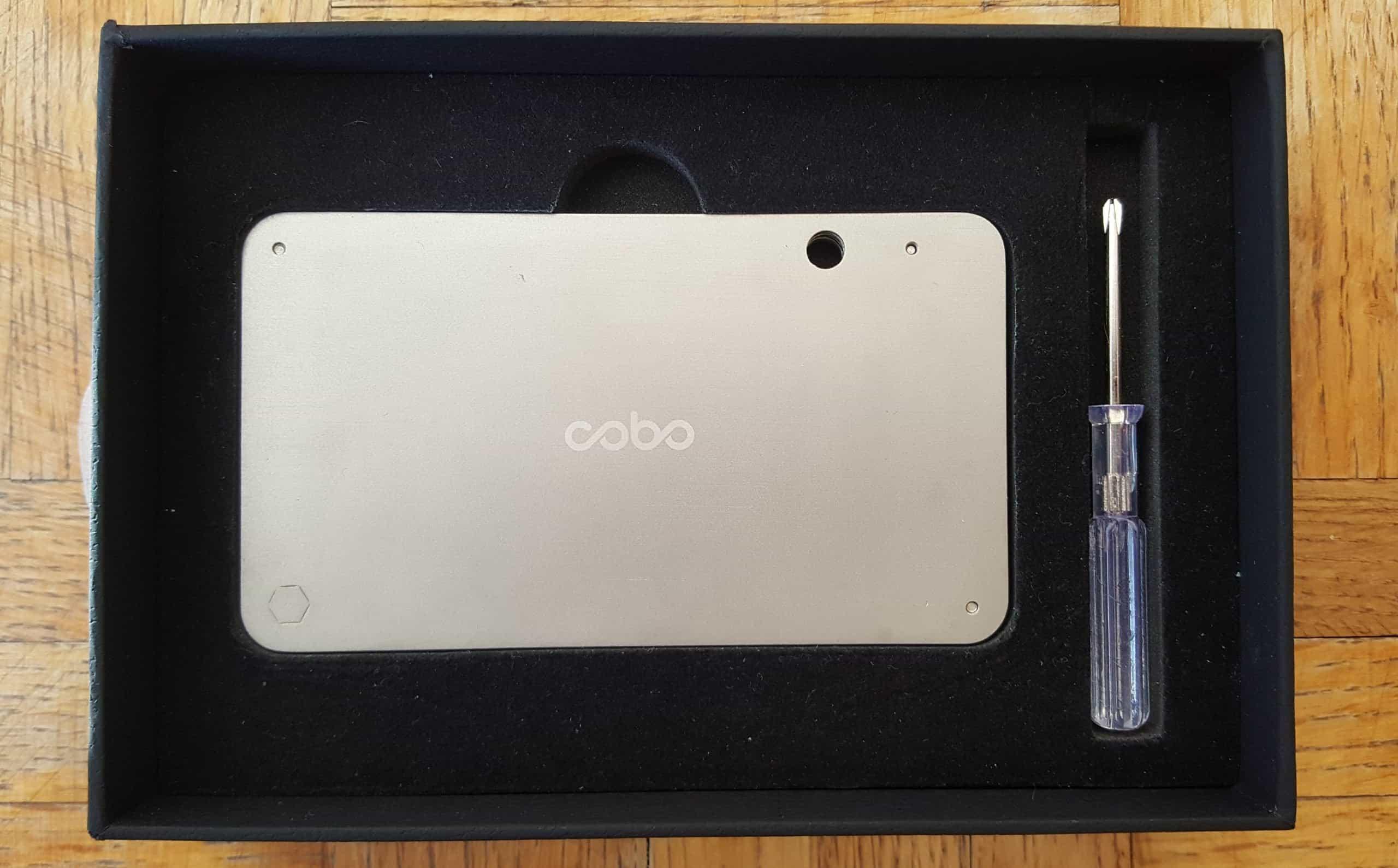 Opening Cobo box
