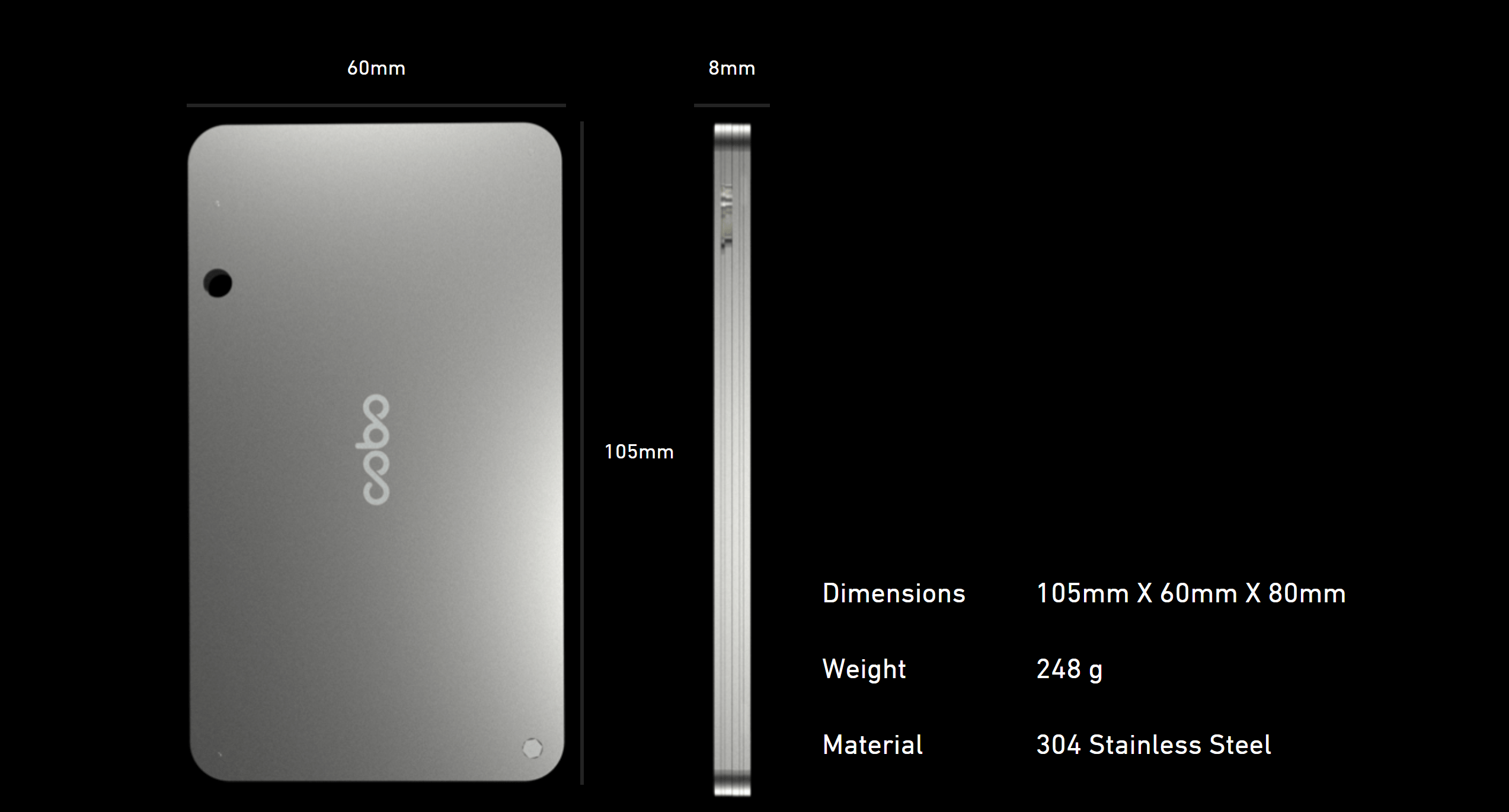 Cobo specifications