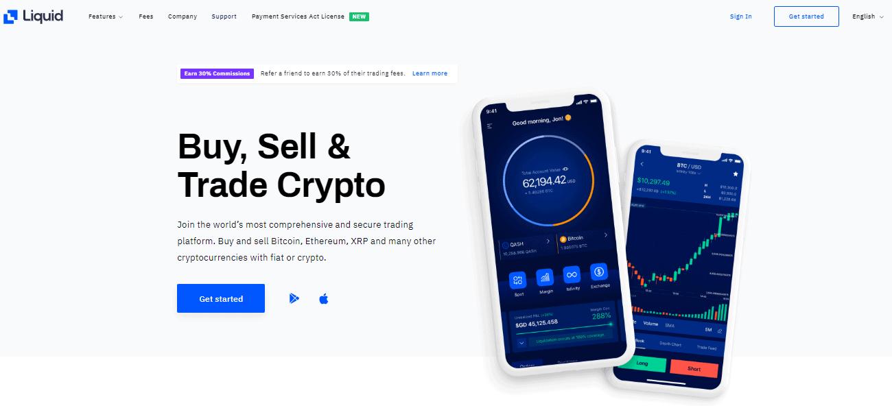 Liquid Exchange App
