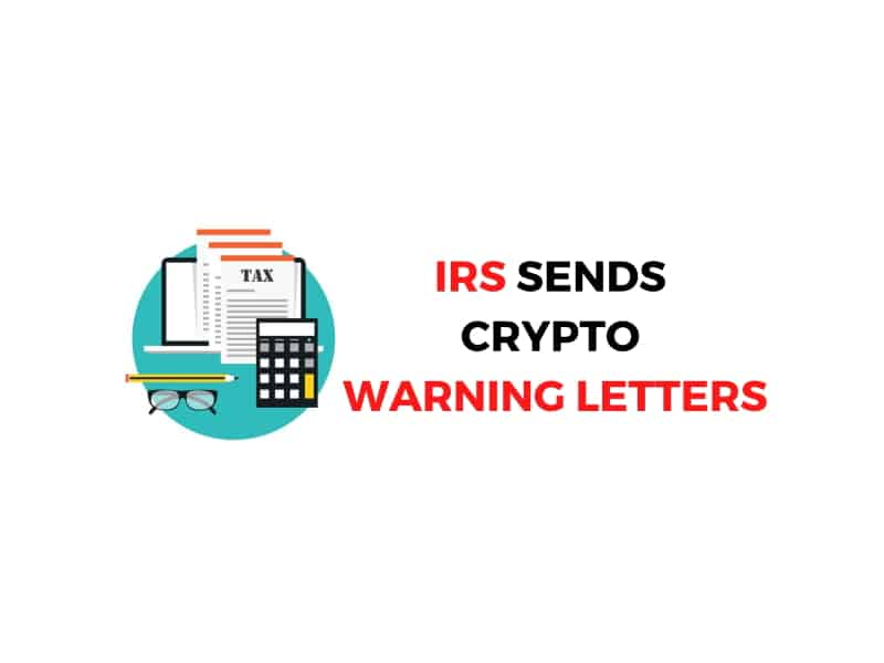 IRS Sends  Crypto-Related Warning Letters |  Bitcoin News Summary Aug 31, 2020